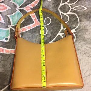 Mondani Bags - Mondani butterscotch and orange purse